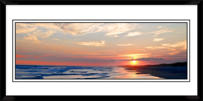 1x3-picture-frame-black-with-Evening-Ends