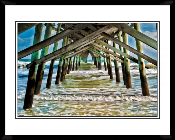 2x3-picture-frame-black-with-Under-The-Pier
