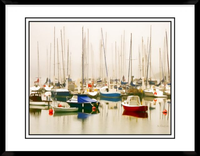 4x5-picture-frame-black-with-Misty-Harbor