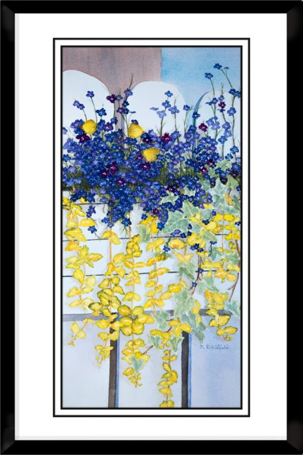 1x2-Landscape-Frame-Flower-Box-Bouquet