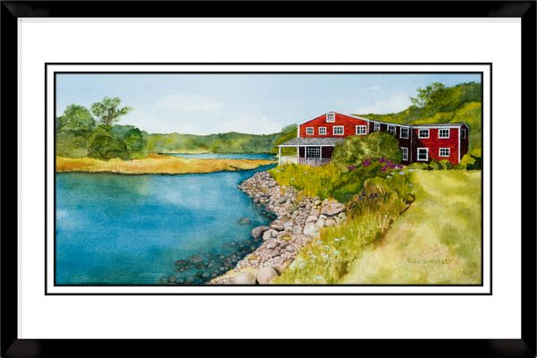 1x2-Landscape-Frame-with-Old-Grist-Mill-Pond